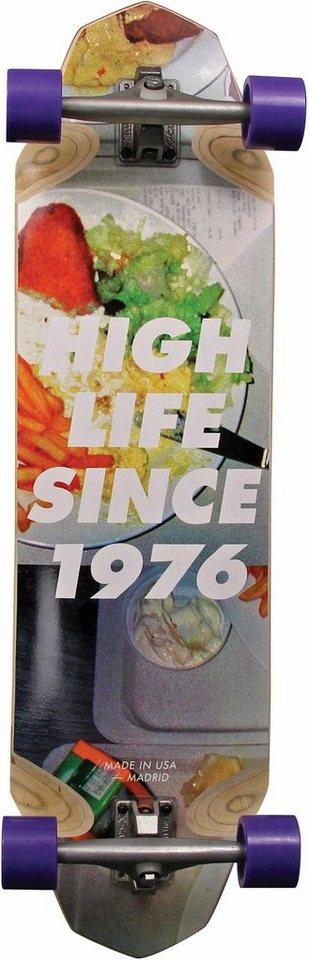 madrid SKATEBOARDS Longboard »Highlife STD«