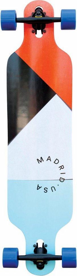 madrid SKATEBOARDS Longboard »Paper Cuts DT« Sale Angebote Pappenheim