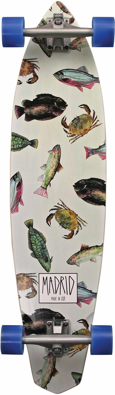 madrid SKATEBOARDS Longboard »Fish STD«