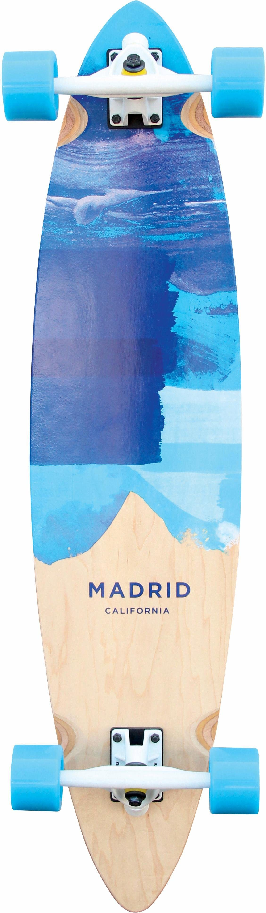 madrid SKATEBOARDS Longboard »Blues«