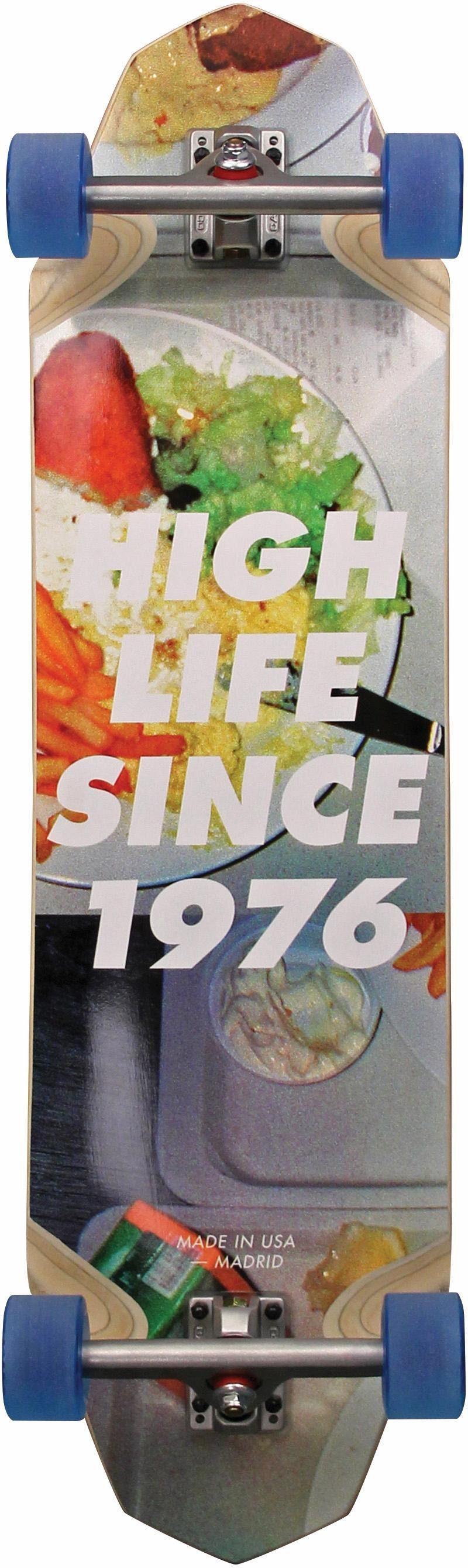 madrid SKATEBOARDS Longboard »Highlife Maxed«