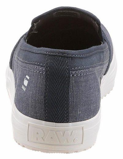 G-Star RAW Kendo Slip-on Slipper, Seitliche Gummizügen für leichten Einstieg