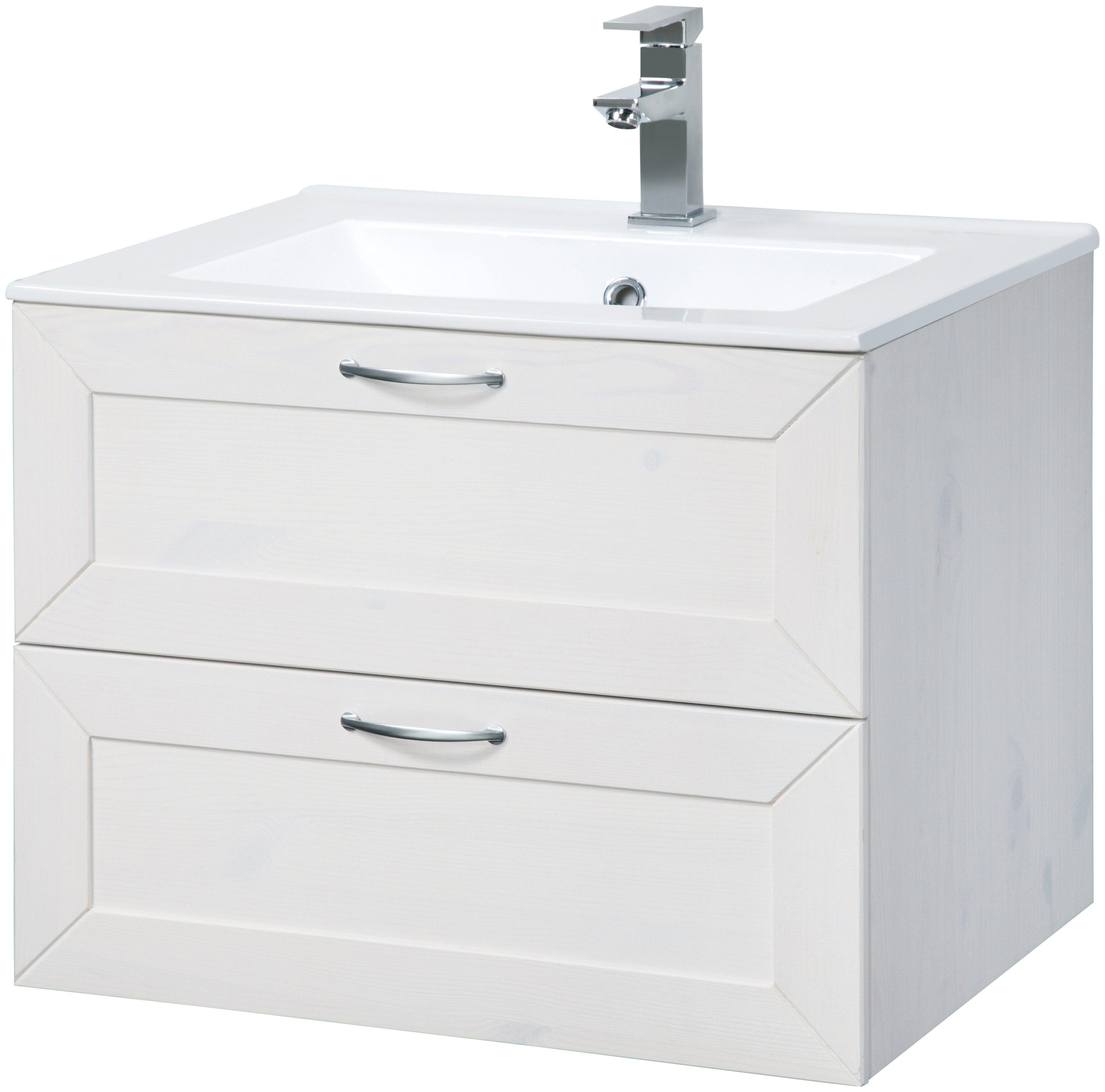 Waschtisch »Modern«, Breite 60 cm, inkl. Keramikwaschbecken