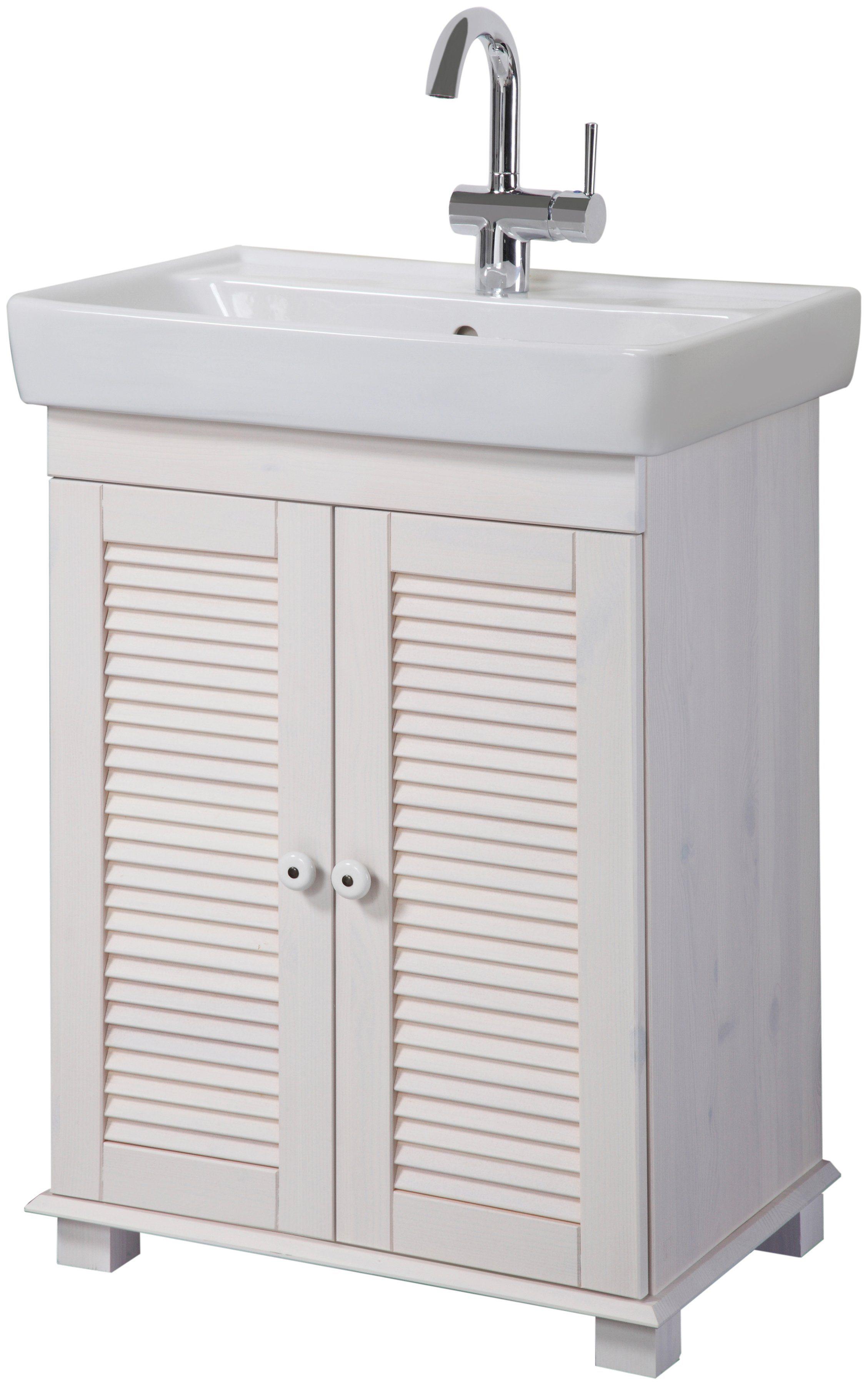 KONIFERA Waschtisch »Sund«, Breite 53 cm, inkl. Waschbecken
