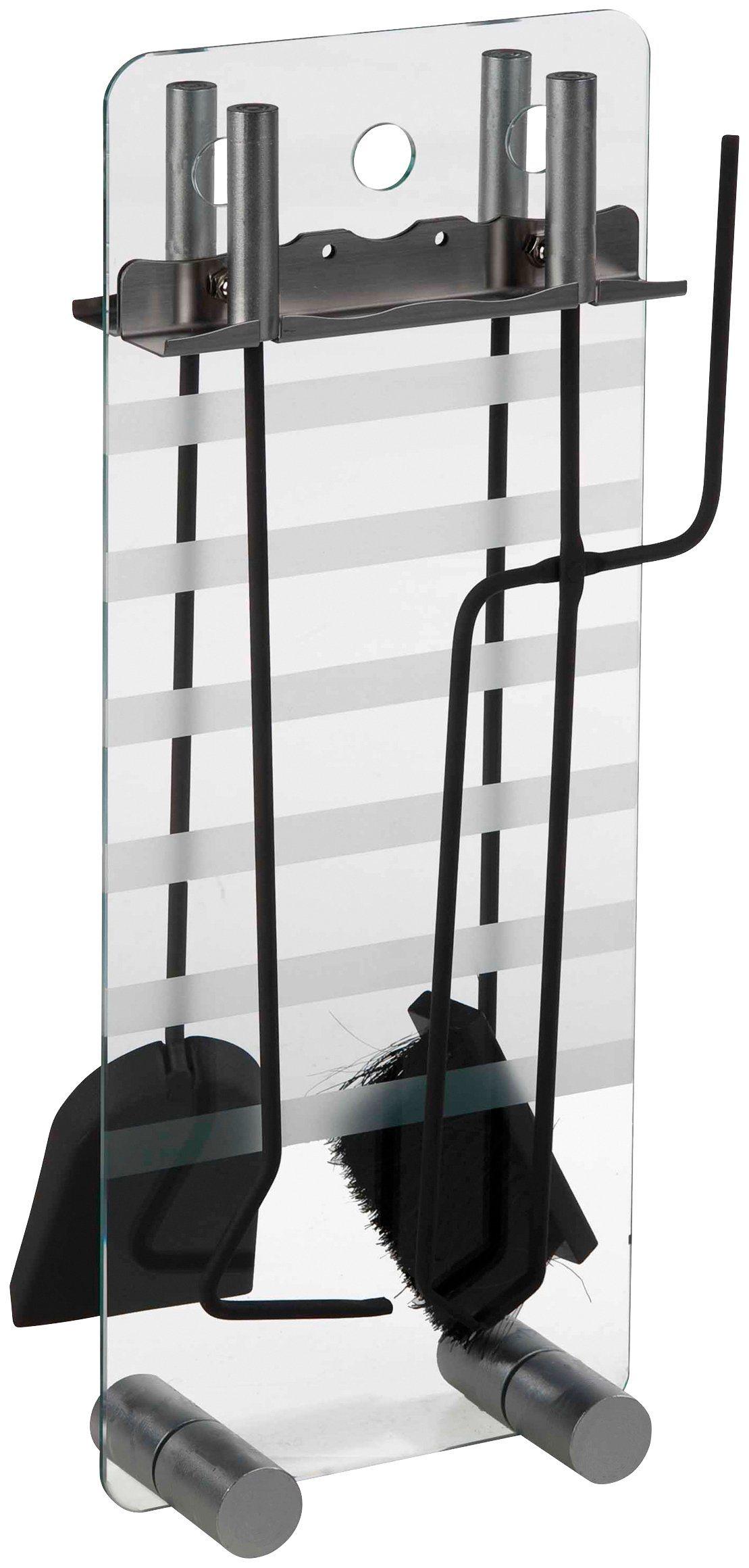 SÜDMETALL Kaminbesteck »Glas«, Set 4-tgl. | Wohnzimmer > Kamine & Öfen > Kaminbestecke | Südmetall