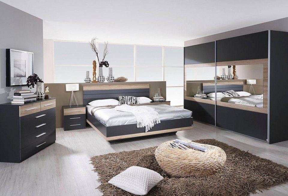 rauch PACK´S Schlafzimmer-Set »Tarragona«, 4-teilig, Schrankfront mit  Spiegelelementen online kaufen | OTTO