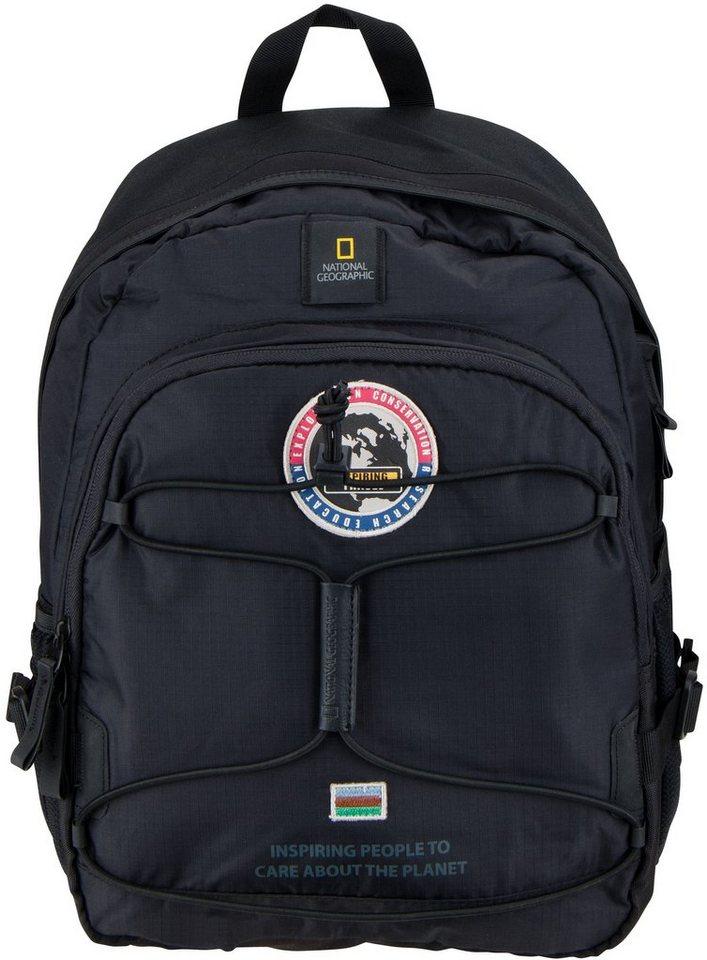 National Geographic, Rucksack mit Laptopfach, »Explorer« in schwarz