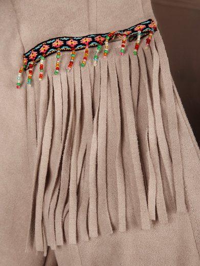 Alba Moda Jacket With Fringe Details