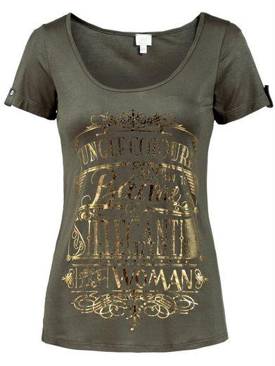 Alba Moda T-Shirt mit Rundhalsausschnitt