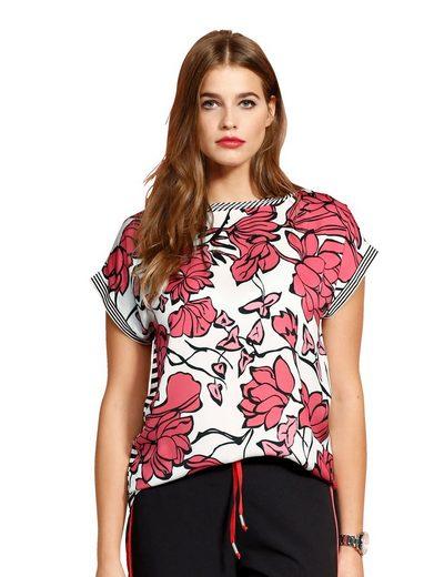 Alba Moda Shirt mit Rückenteil aus Jersey