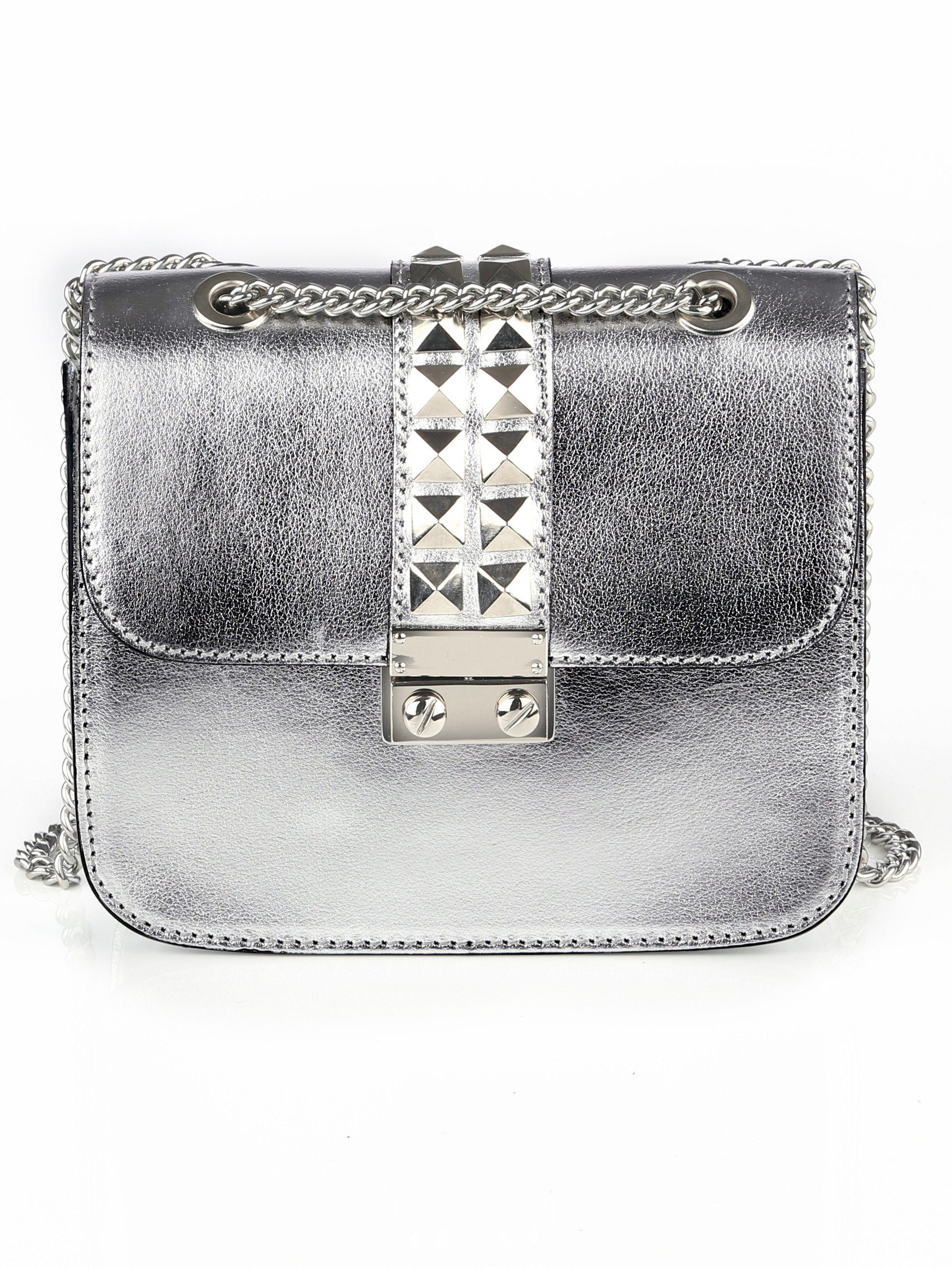 Alba Moda Tasche in Metallic-Optik