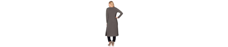 sheego Style Jerseymantel, in offener Form