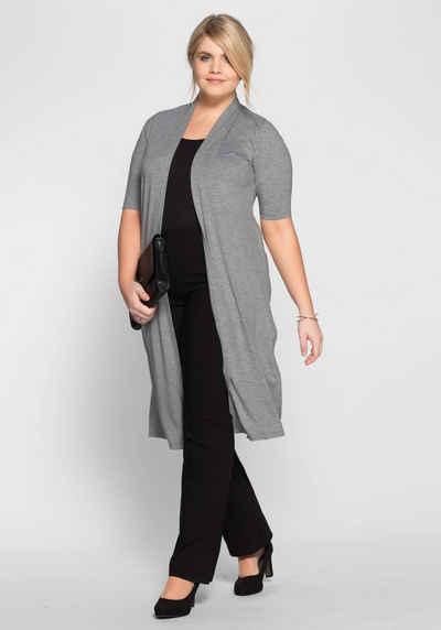 Вязаное пальто Sheego