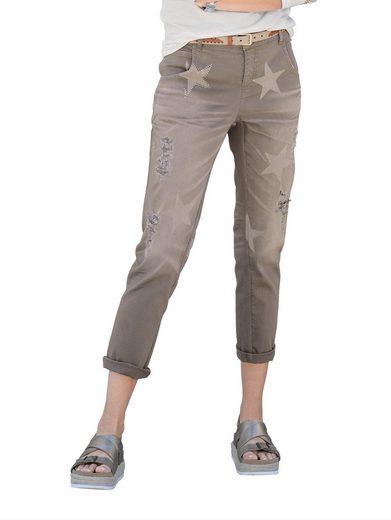 Alba Moda Jeans With Star Print
