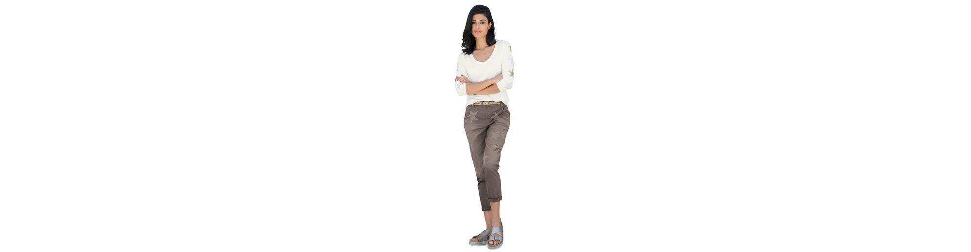 Alba Moda Jeans mit Sterneprint Billig Verkauf Angebote bHSSw3W