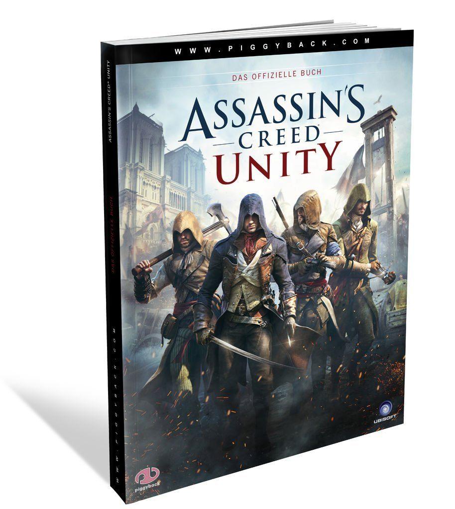 Piggyback Lösungsbücher »Assassins Creed Unity - Das offizielle Buch«