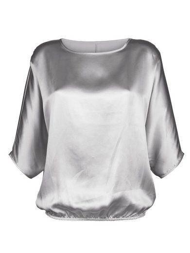 Alba Moda Seidenshirt in glänzender, hochwertiger Qualität
