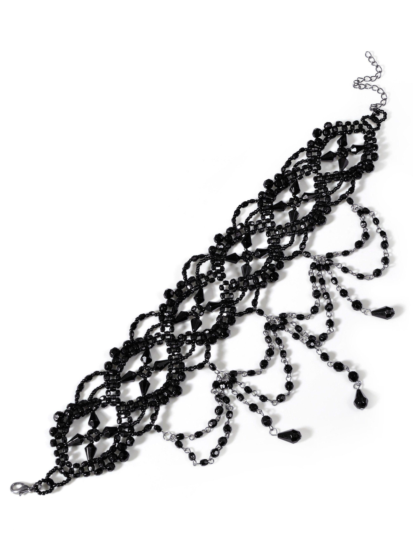 Alba Moda Choker-Kette in halsnaher Form in modischer Form