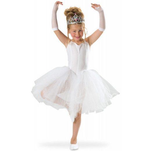 Prima Ballerina Kinderkostüm weiß