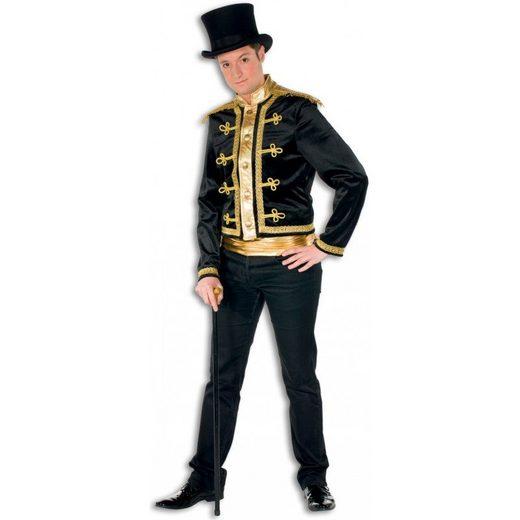 Zirkusdirektor Dompteur Premium Kostüm schwarz
