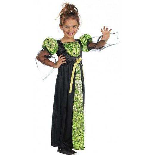 Greeny Spinnenhexe Kinderkostüm