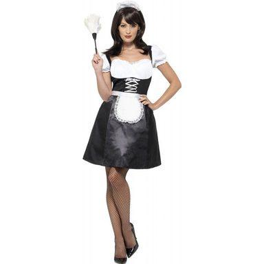 French Maid Hausmädchen Kostüm