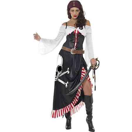 Sexy Säbelkämpferin Piratin Kostüm