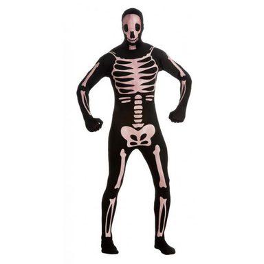 Skeleton Kostüm nachtleuchtend