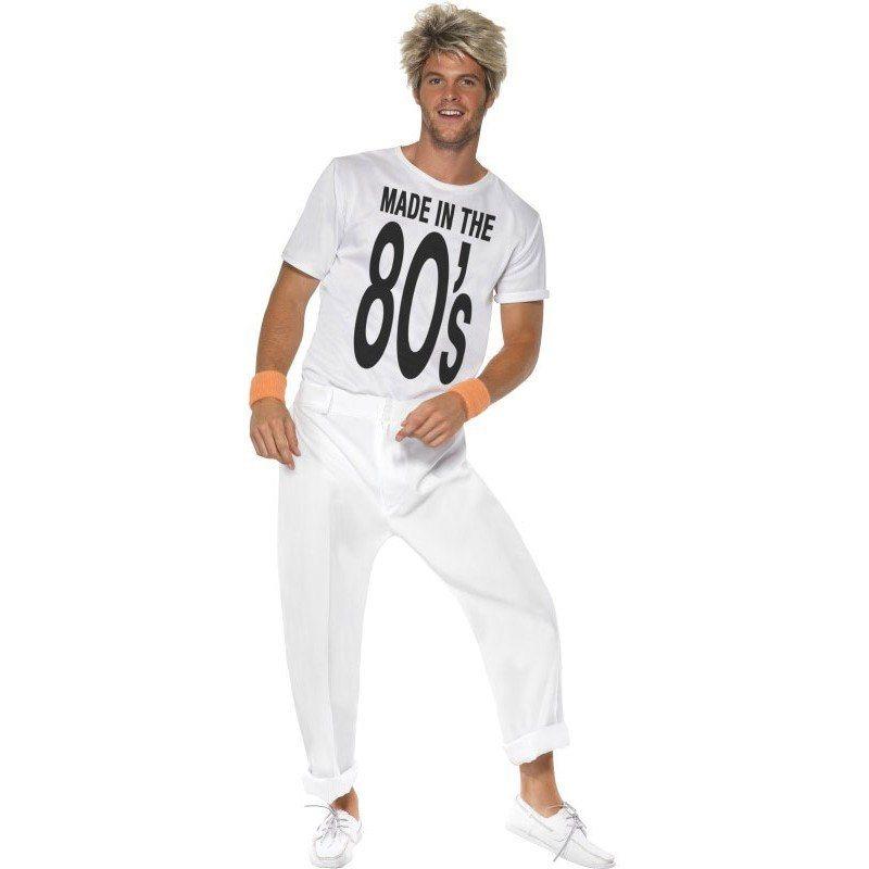 80er Jahre Party Boy Kostüm Schlichtes Design Online Kaufen Otto