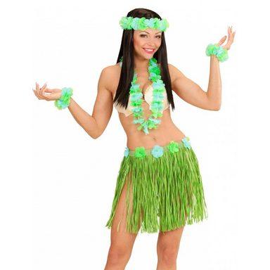 Hawaii Girl Kostüm-Set grün (Größe)
