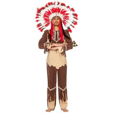 Starker Bär Cherokee Indianer Häuptling Kostüm