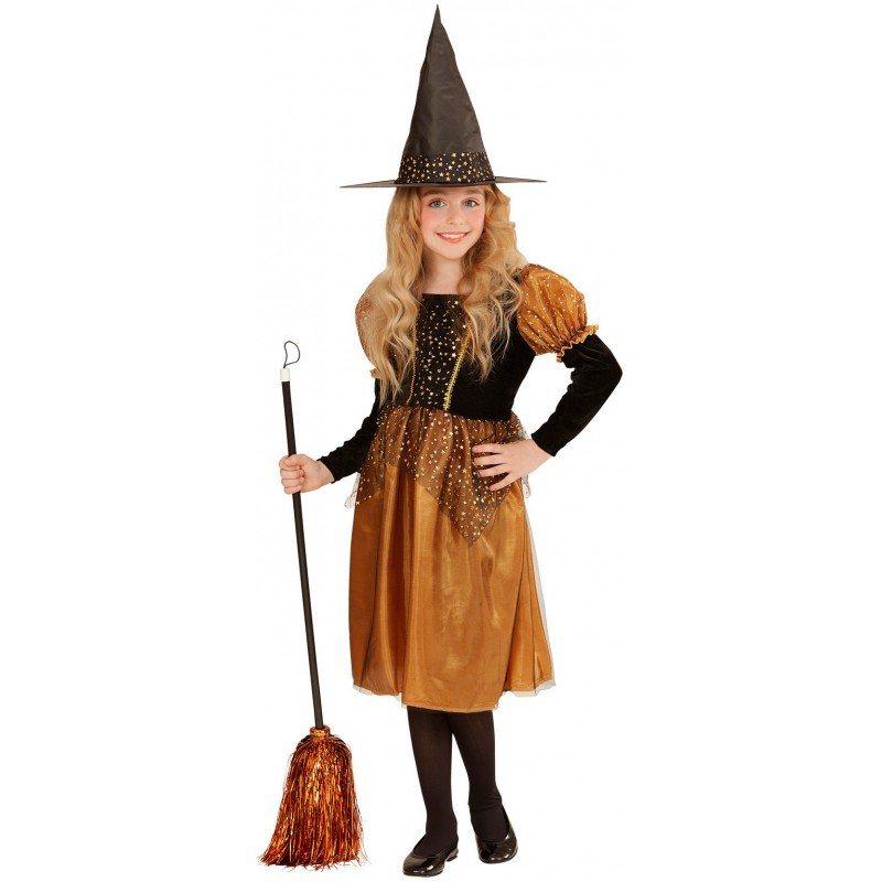 zauberhexe halloween kost m orange schwarz kaufen otto. Black Bedroom Furniture Sets. Home Design Ideas