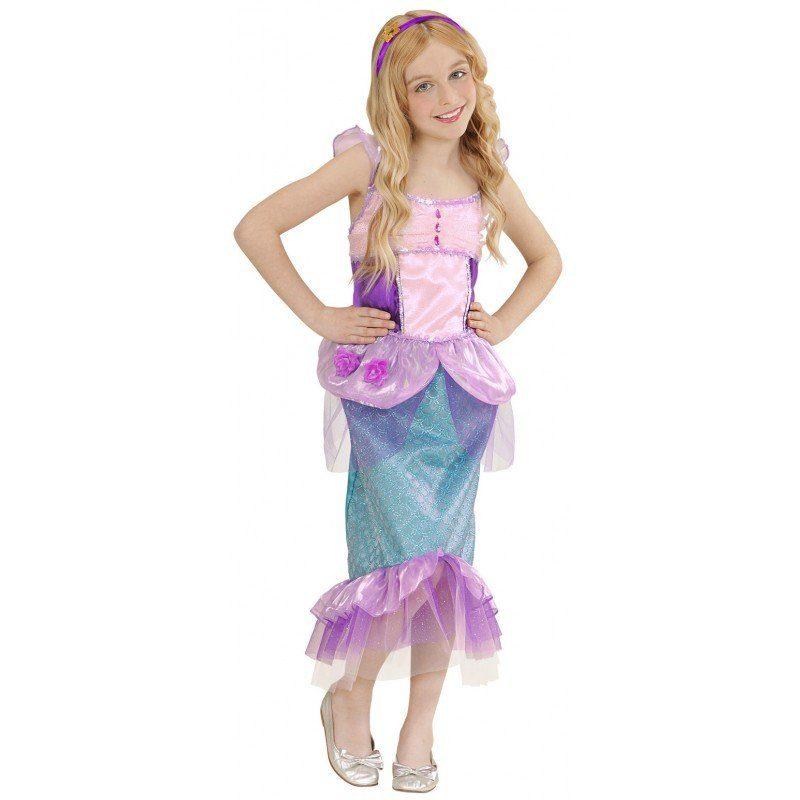 Unisex Kleine Meerjungfrau Kinderkostüm bunt,  mehrfarbig | 08003558022366