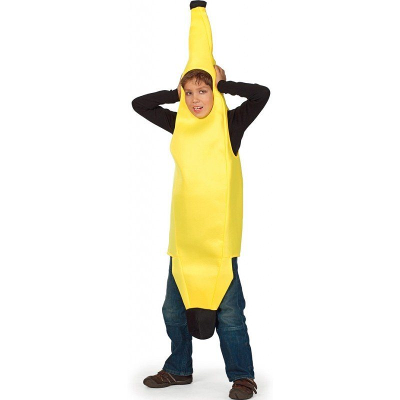 Banana Boy Bananen Kinderkostüm - Einheitsgröße