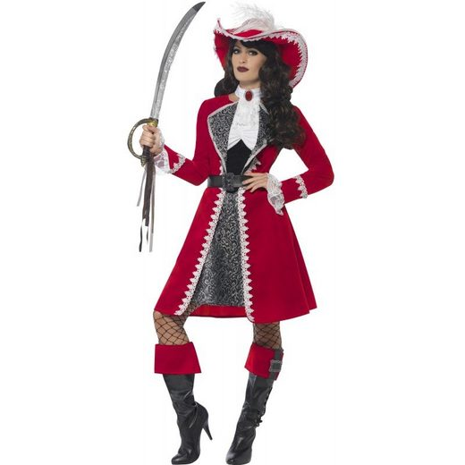Henriette Piratenkapitän Damenkostüm