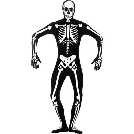 Leuchtendes Skelett Bodysuit