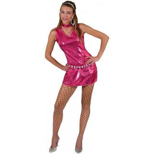 Saturday Night Disco Partykleid pink