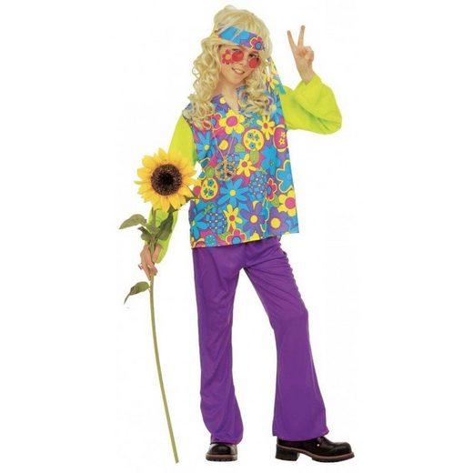 Buntes Hippie Kostüm für Jungen