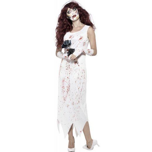 Zombie Braut Jules Damenkostüm