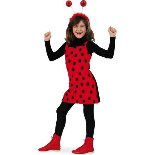 Süßes Marienkäferchen Kostüm für Kinder