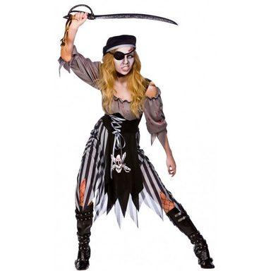 Mörderische Piratenbraut Zombie Kostüm
