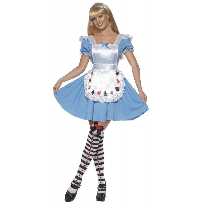 Alice im Wunderwald Kostüm für Damen