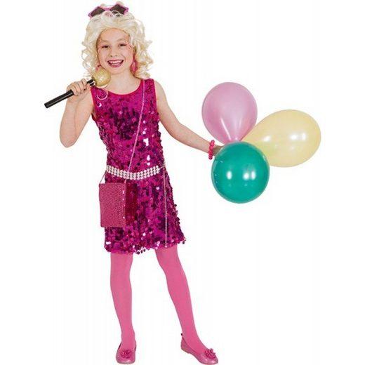 Pinky Glamour Pop Star Kinderkostüm