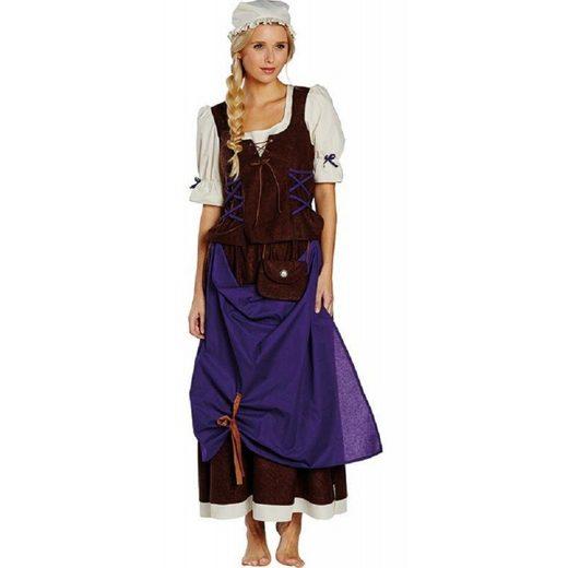 Schöne Mittelalter Marktdame