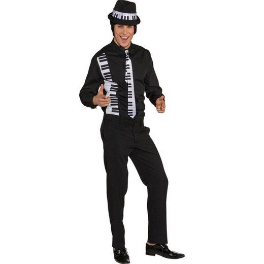 Hemd Klavier Musik Kostüm für Herren