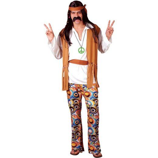 Peaceful Larry Hippie Kostüm
