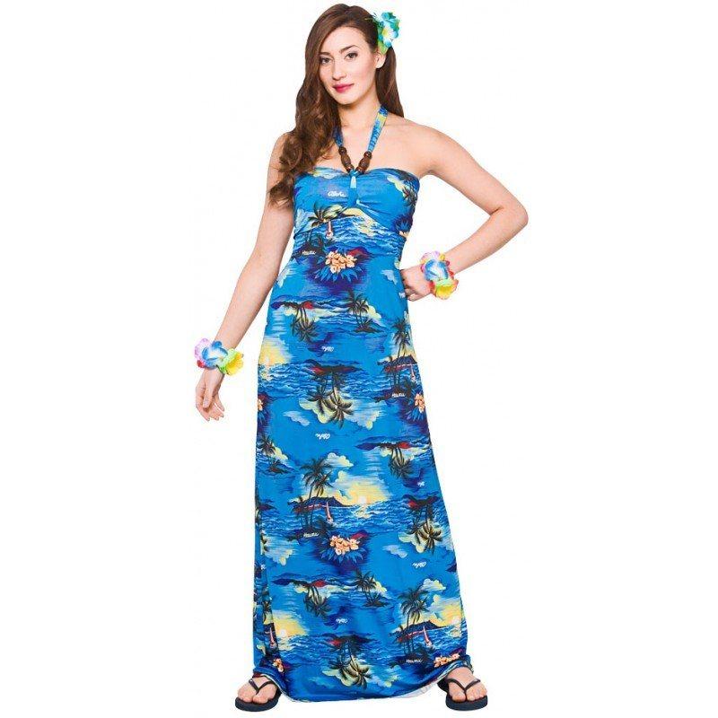Beachparty Hawaii Kleid Blue Curacao online kaufen | OTTO