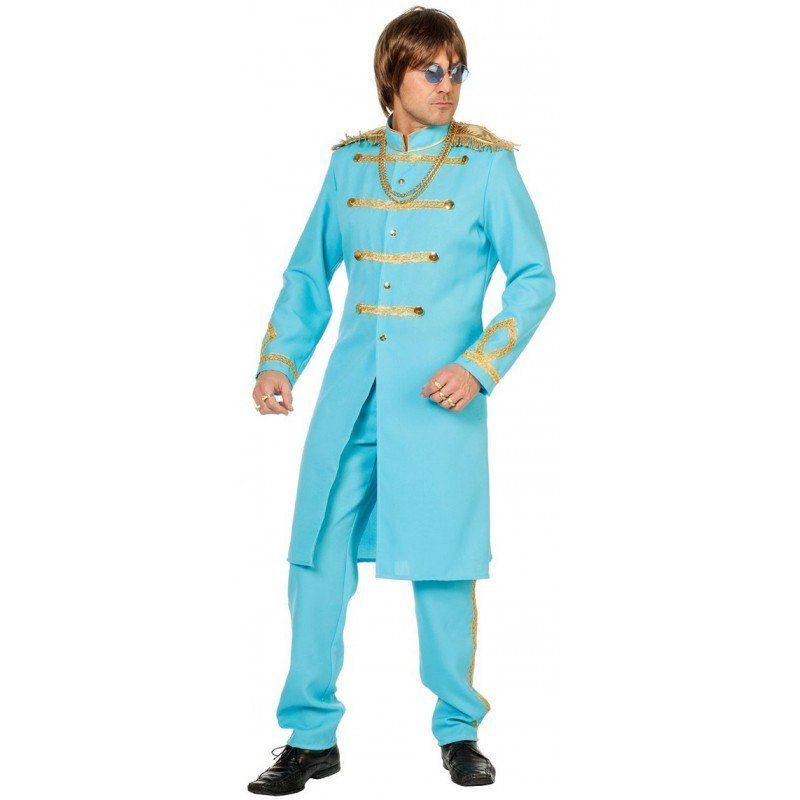Sergeant Pepper Kostüm in hellbau
