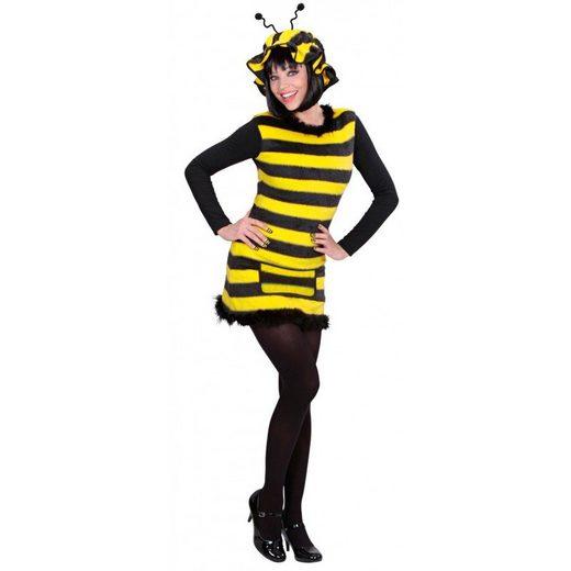 Plüschbiene Damen Kostüm