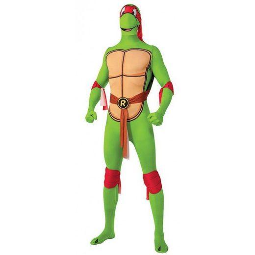 TMNT Raphael Second Skin Herrenkostüm